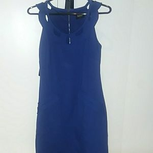Shelli Segal blue dress